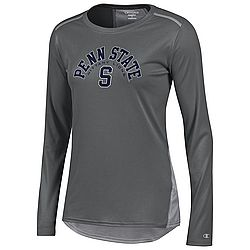 Champion Penn State Women's Vapor Titanium Block S Long Sleeve Nittany Lions (PSU) (Champion )