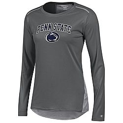 Champion Penn State Women's Vapor Titanium Long Sleeve Nittany Lions (PSU) (Champion )