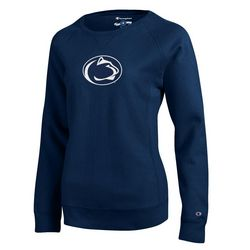 Penn State Womens Reverse Weave Sweatshirt Lion Head