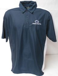 Charles River Apparel Penn State Polo Shirt Navy With White Trim Nittany Lions (PSU) (Charles River Apparel)