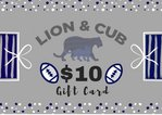Penn State $10.00 Gift Card Nittany Lions (PSU)