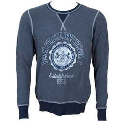 Penn State Crew Neck Vintage Sweatshirt Navy Official Seal Nittany Lions (PSU)
