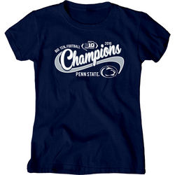 Penn State Football Big Ten Champs Ladies Tshirt 2016 Nittany Lions (PSU) 000000000P8GG LALT