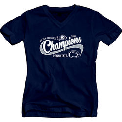 Penn State Football Big Ten Champs Ladies V Neck Tshirt 2016 Nittany Lions (PSU) 000000000P8GG LALV