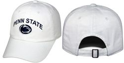 Penn State Hat White Arching Over Relaxed Fit Nittany Lions (PSU)
