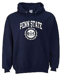Penn State Hooded Sweatshirt Official Seal Navy