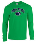 Penn State Irish Green Long Sleeve Shirt Arching Over Lion Nittany Lions (PSU)
