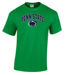 Penn State Irish Green T-Shirt Arching Over Lion Nittany Lions (PSU)