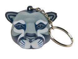 Penn State Key Chain Foam Head Nittany Lions (PSU)