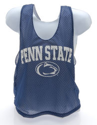 Penn State Lacrosse Style Mesh Tank Top Navy Arching Over Nittany Lions (PSU)