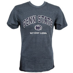 Penn State Lion Head Nittany Lions Applique T-Shirt Charcoal Nittany Lions (PSU)