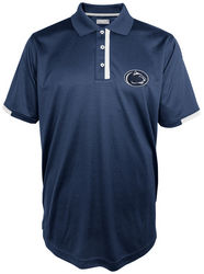 Penn State Mens Performance Polo Navy White Trim Elite