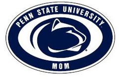 "Penn State Mom Magnet 4"" X 6"" Nittany Lions (PSU)"