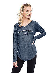 Penn State Nittany Lion Women's Long Sleeve V-Neck Nittany Lions (PSU)