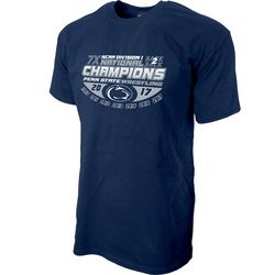 Penn State Nittany Lions 2017 Wrestling National Champs T Shirt Nittany Lions (PSU)