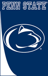 "Penn State Nittany Lions Applique Flag 28"" X 44"" Nittany Lions (PSU)"