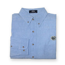 Penn State Nittany Lions Chambray Button Up Shirt Nittany Lions (PSU) 1225