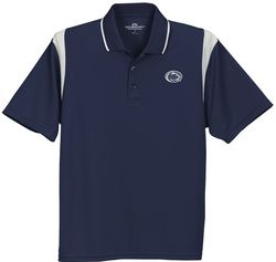Penn State Nittany Lions Golf Shirt Navy Color Block Nittany Lions (PSU)