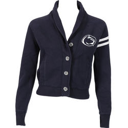 Penn State Nittany Lions Juniors Cropped Button Up Nittany Lions (PSU)