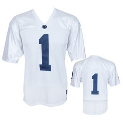 Penn State Nittany Lions Kids Football Jersey White #1 Nittany Lions (PSU)
