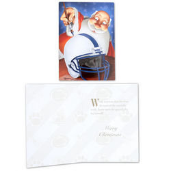 Penn State Nittany Lions Santa Holiday Cards 10 Pack