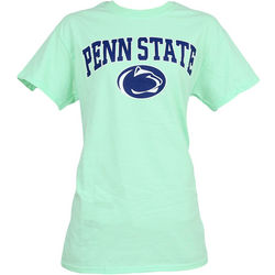 Penn State Nittany Lions T-Shirt Mint Arching Over Lion Nittany Lions (PSU)