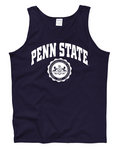 Penn State Nittany Lions Tank Top Official Seal Navy Nittany Lions (PSU)