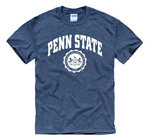 Penn State Official Seal T-Shirt Heather Navy Nittany Lions (PSU)