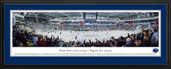 Penn State Pegula Ice Arena Panorama Deluxe Framed and Matted Nittany Lions (PSU) DSBWP-PSU3D