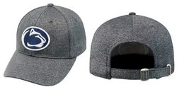 Penn State Performance Hat Heather Gray Adjustable Nittany Lions (PSU)