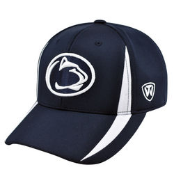 Penn State Performance Hat Navy With White Nittany Lions (PSU)