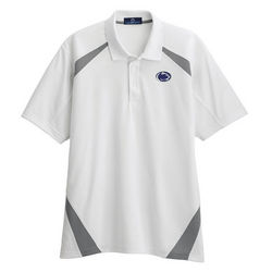 Penn State Performance Polo Coaches White Gray Lion Nittany Lions (PSU)