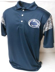Penn State Performance Polo Digital Camo Inserts Navy Nittany Lions (PSU)