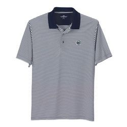 Penn State Performance Polo Striped Lion Head Nittany Lions (PSU) 2933