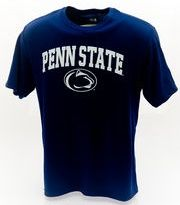 Penn State Performance T-Shirt Navy Arching Over Lion Nittany Lions (PSU)