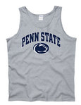 Penn State Tank Top Gray Arching Over Nittany Lions (PSU)