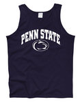 Penn State Tank Top Navy Arching Over Nittany Lions (PSU)