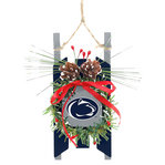 Penn State Team Wood Sled Ornament Nittany Lions (PSU)