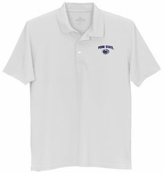 Penn State Tech Performance Polo White Arch Over Nittany Lions (PSU)
