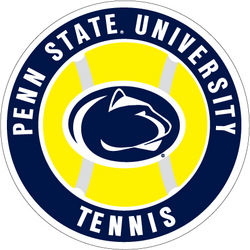 Penn State Tennis Magnet 4 Inch Nittany Lions (PSU)