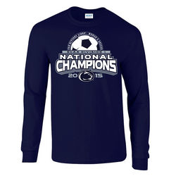 Penn State Women's Soccer National Champions Long Sleeve Shirt Nittany Lions (PSU)