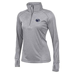 Penn State Womens Performance Quarter Zip Gray Nittany Lions (PSU) apc02955426 5815340