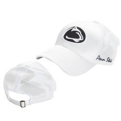 Penn State Womens White Hat Satin Nittany Lions (PSU)