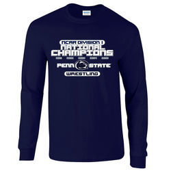 Penn State Wrestling 2016 Champions Long Sleeve Shirt Nittany Lions (PSU)