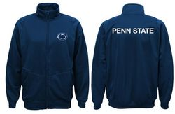 Penn State Zipper Up Soft Shell Jacket Navy Nittany Lions (PSU)