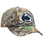 Real Tree Penn State Nittany Lions Camo Hat Buckle Back Nittany Lions (PSU) (Real Tree)