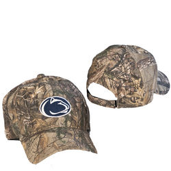 Real Tree Penn State Nittany Lions Camo Hat Velcro Back Nittany Lions (PSU) (Real Tree)