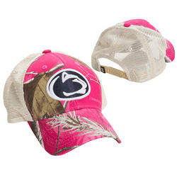 Real Tree Penn State Nittany Lions Womens Camo Hat Pink Nittany Lions (PSU) (Real Tree)