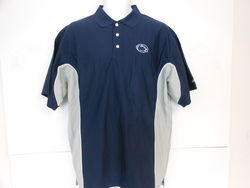 Soffee Penn State Nittany Lions Performance Golf Shirt Navy with Gray Down Sides Nittany Lions (PSU) (Soffee)