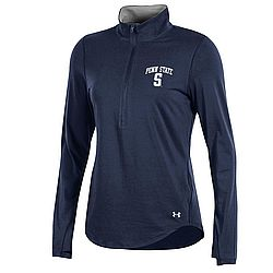 Under Armour Penn State Women's Navy Performance 1/2 Zip Nittany Lions (PSU) (Under Armour )